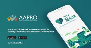 CityHealth este recomandata de APRO. Descarca aplicatia din magazinele de aplicatii mobile.